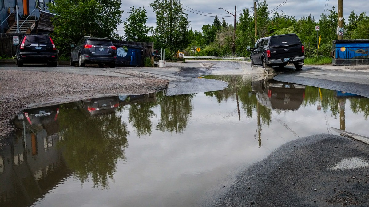 Yellowknife got 114 mm of rain in June. How much is that?