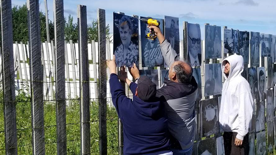 Hay River's memory wall, hundreds strong, returns for 2018