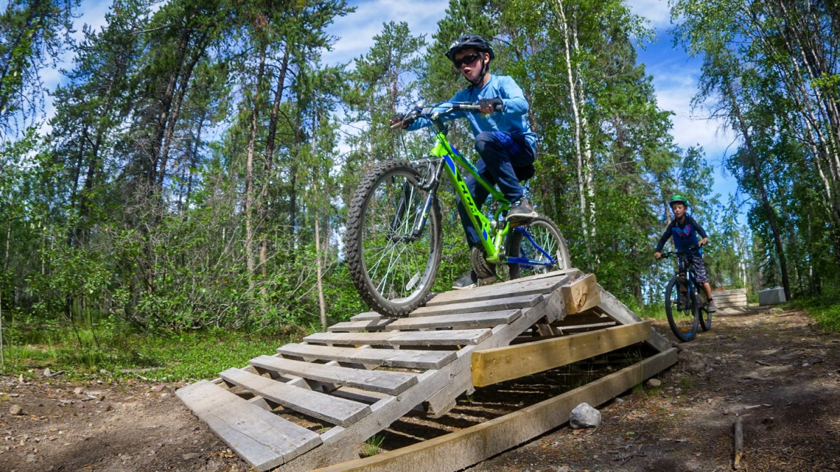 Yellowknife bike park takes big step with $50K Rotary grant