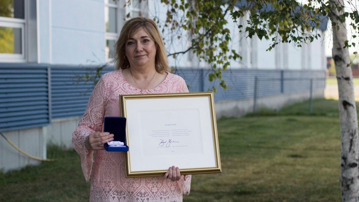 Hay River principal receives Governor General's Polar Medal