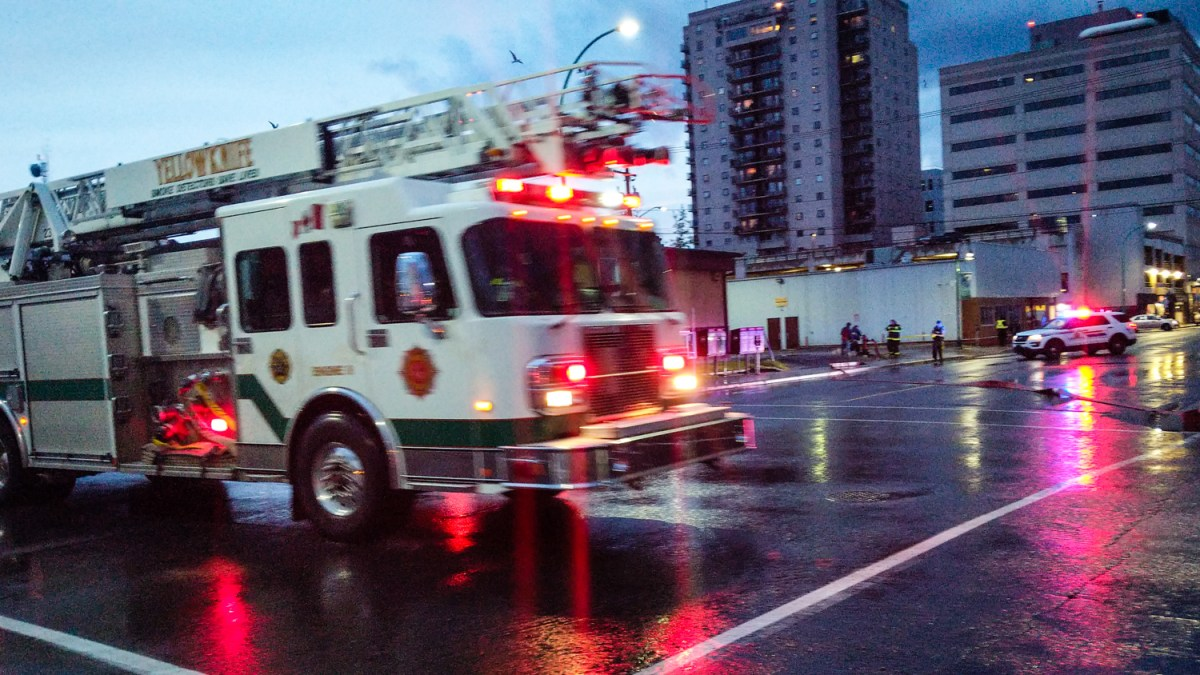 Yellowknife's abandoned buildings worry fire marshal