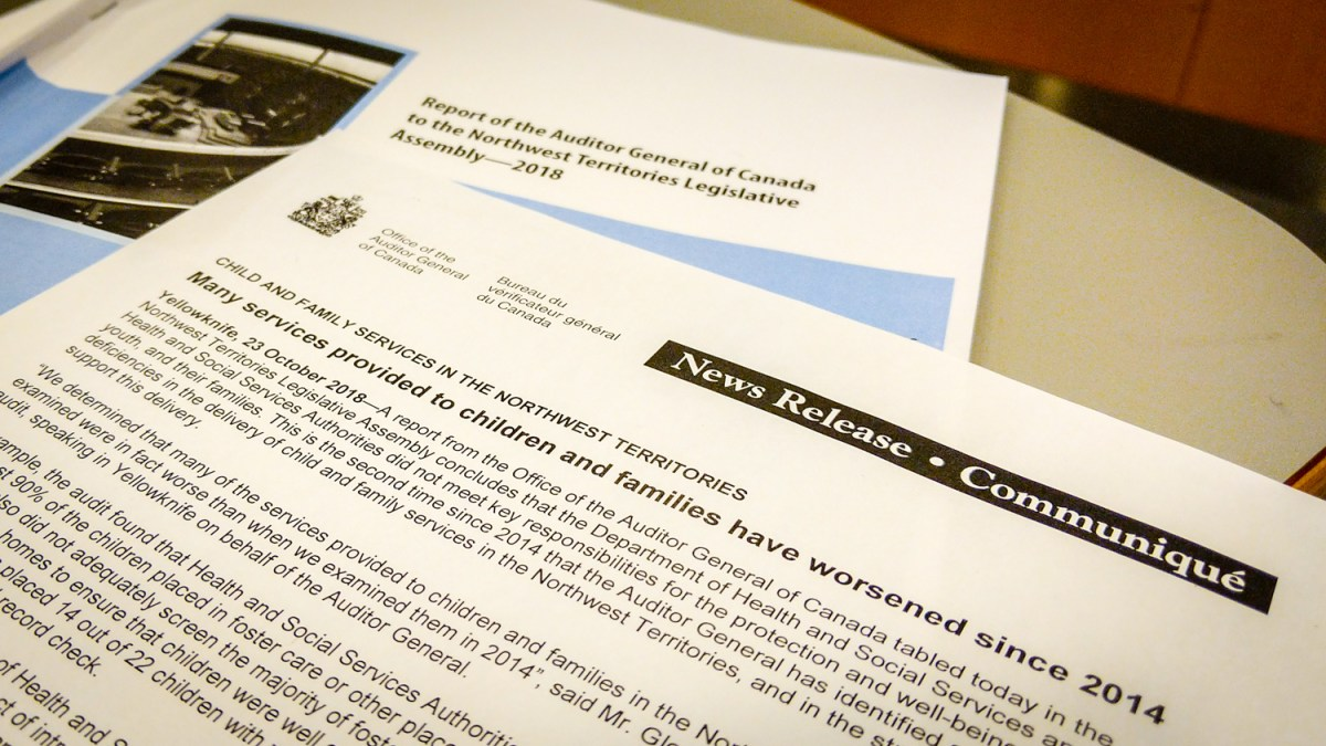 'It got worse' – Auditor General damns NWT's child protection, again