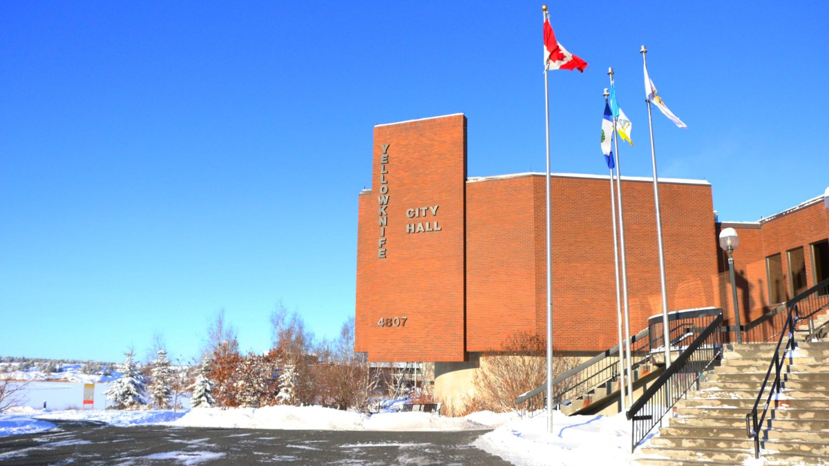 Smart money on Yellowknife? City Hall lights go dim for $5M