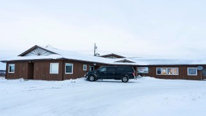 A file photo of the Elders' facility in Fort Resolution in December 2018