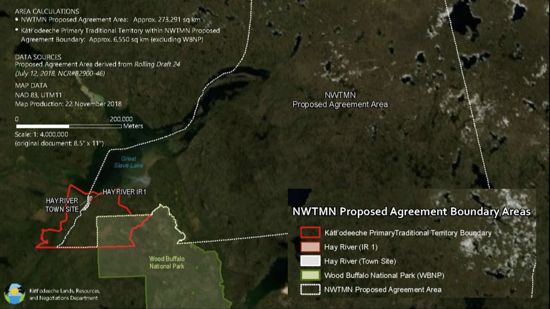 Maps and signs at the fore as Métis, KFN assert land rights