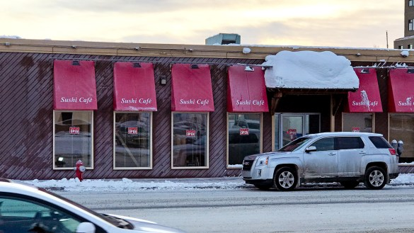 Yellowknife's Sushi Café is pictured in December 2018
