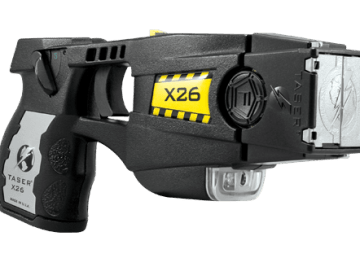 An RCMP-issue image of a Taser conducted energy weapon