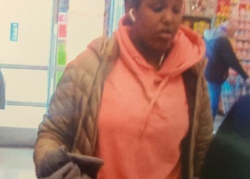A submitted photo of a woman RCMP believe used fraudulent prescriptions at local pharmacies.
