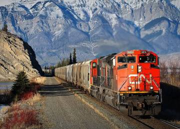 A file image of a CN train