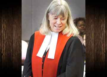 A file photo of Chief Justice Louise Charbonneau.hoto of