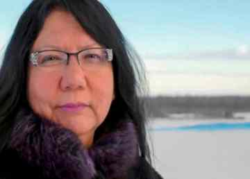 Frieda Martselos appears in a Salt River First Nation image