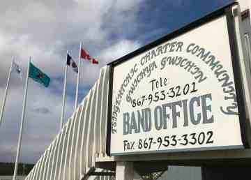 Tsiigehtchic Band Office