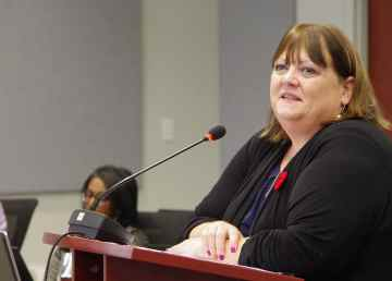 Eleanor Young, deputy minister of municipal and community affairs