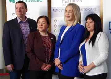 Funders and NWT government members gathered to announce $500,000 in mental health supports funding on January 15, 2020