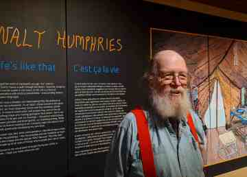 Walt Humphries' Life's Like That exhibit is on at the Prince of Wales Northern Heritage Centre until June