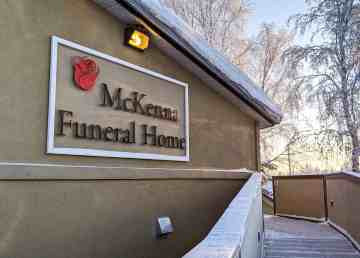 Yellowknife's McKenna Funeral Home in December 2019