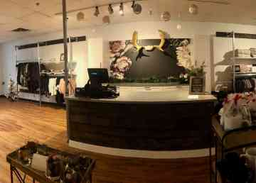 Yellowknife's La Dee Dah Boutique is seen in a photo uploaded by the store to Facebook
