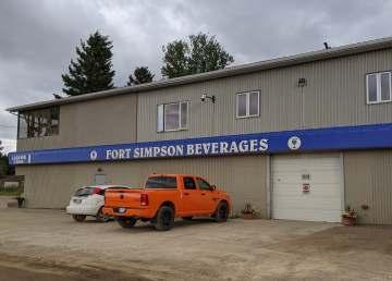 Fort Simpson's liquor store