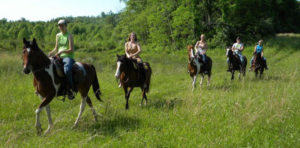 The Cabins at Pinehaven, WV Outdoor Adventure Package, Horseback Riding