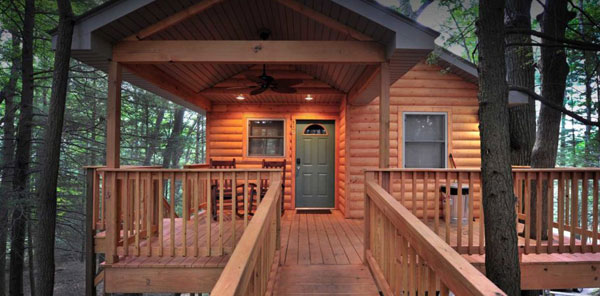 The Cabins at Pinehaven, WV Outdoor Adventure Package, Tree Houses