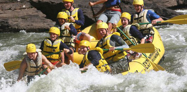 The Cabins at Pinehaven, WV Outdoor Adventure Package, Rafting