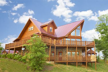 7 bedroom cabins pigeon forge tn | family reunions