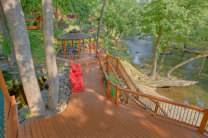 6-bedroom smoky mountain private pool cabin – cabins usa gatlinburg