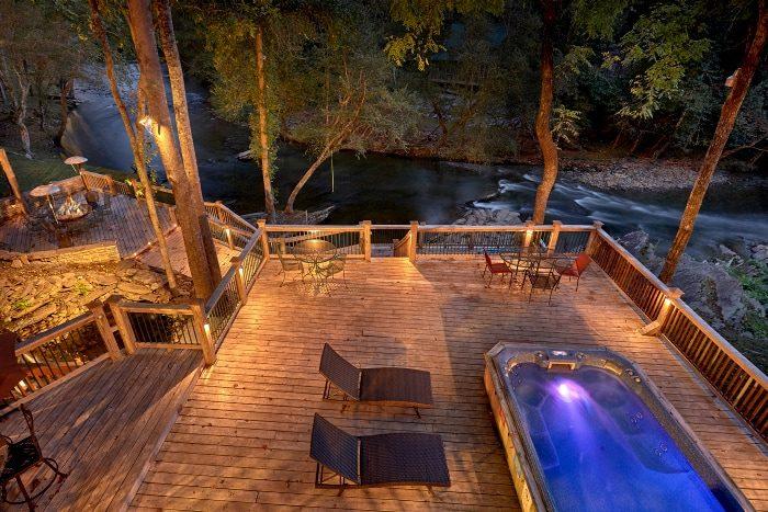 6-bedroom smoky mountain private pool cabin – cabins usa gatlinburg