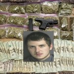 Rocky Mount Man Believed to be On the Run After Investigators Find Over $3,900 in Cash, Weed and Semi-Automatic Handgun
