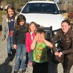 Deputy Visits Local Girl, Fulfilling Her Christmas Wish