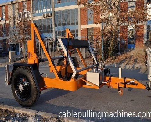 Full Hydraulic Cable Drum Trailers Manufacturer cable pulling machines Cable Pulling Machines and Cable Drum Trailers Manufacturer! Full Hydraulic Cable Drum Trailers Manufacturer 04