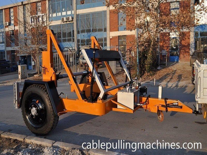 Cable drum trailers cable drum trailers Cable Drum Trailers About Full Hydraulic Cable Drum Trailers Manufacturer 04