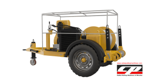 cable pulling winches HYDRAULIC CABLE PULLING WINCHES 5TON Hydraulic Cable Pulling Machine 2