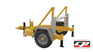 hydraulic cable drum trailers Hydraulic Cable Drum Trailers 4TON Hydraulic Drum Trailer Manufacturer 4 Tons 8