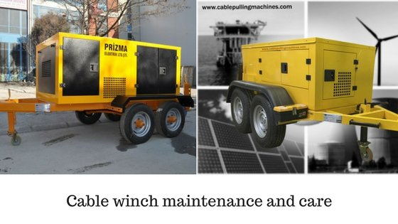 Cable Winch cable winch Cable winch maintenance and care Cable Winch