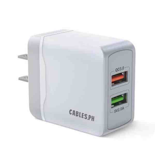 Quick Charge 3.0 Dual Port Charger Cables-ph