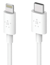 Belkin Boost Charge USB-C Cable with Lightning Connector - MFi-Certified Cable 1.2 m