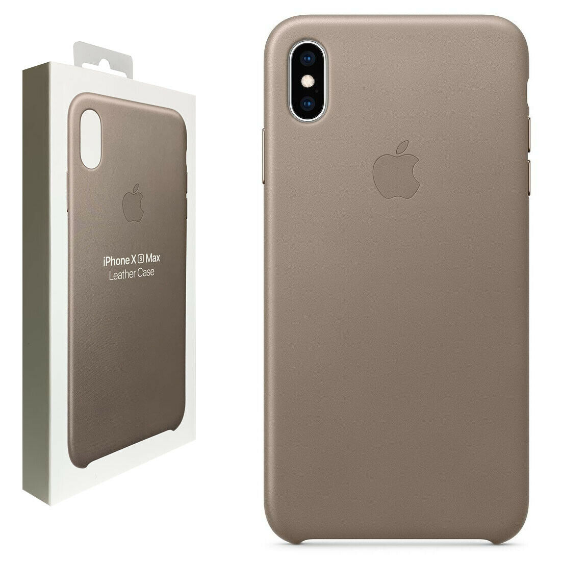 Apple iPhone XS Max Leather Case Taupe -MRWR2ZM A