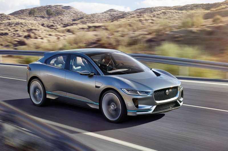 iPace all electric Jag