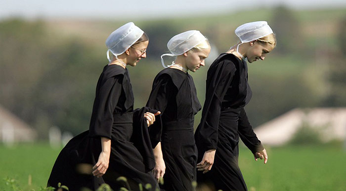 Rytuały Amiszów