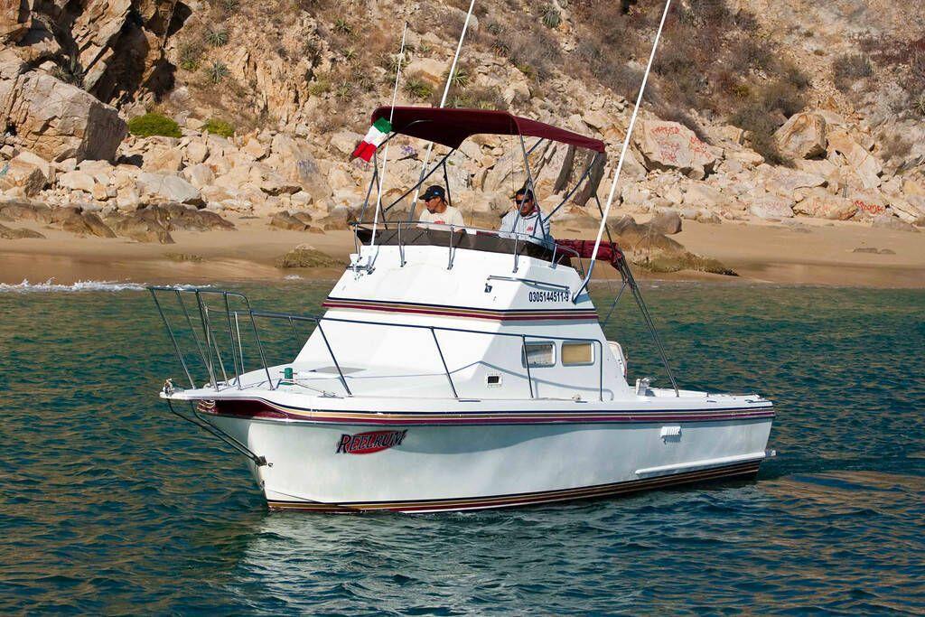 RedRum Sportfishing Cabo 28ft Californian Cabo Fishing Charter boat Cabo San Lucas ReelRum