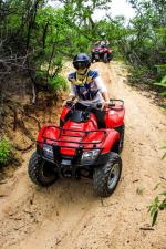 ATV Adventure Tours take you through the canyons leading to the spectacular beaches of Los Cabos