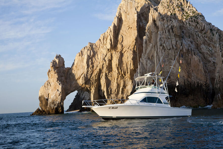 c-rod sport fishing los cabos 38ft blackfin charter boat cabo san lucas