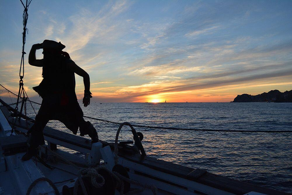 Cabo San Lucas sunset cruise aboard cabo legend pirate ship