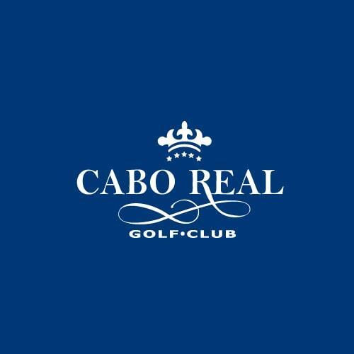 cabo real logo part of questro golf los cabos