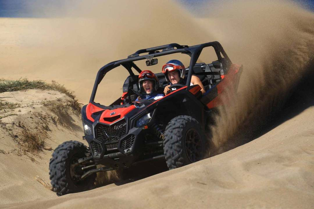 UTV Side by Side Tours in Cabo San Lucas Can Am Maverick