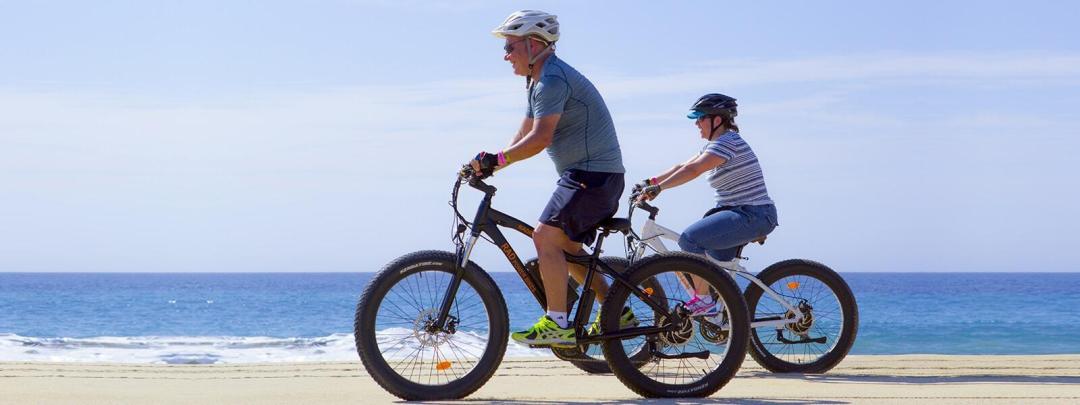 electric bike beach ride in cabo san lucas