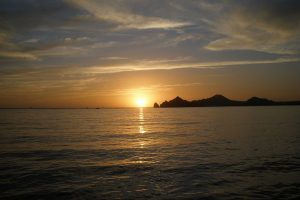 Enjoy the spectacular sunsets and see the sun melt into the sea in cabo san lucas