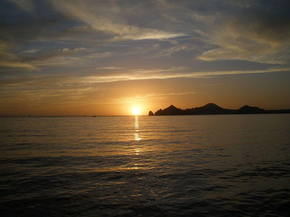Enjoy the spectacular Cabo San Lucas Sunsets aboard the cabo escape sunset cruise