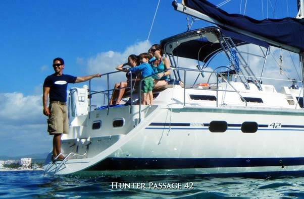 cabo sailing 42 ft Mistral and Synergy great for snorkelling, day sailing or cabo sunset sailing tours, located in cabo san lucas